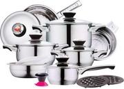Набор посуды LOWEN HERZ  LH-18000 17  предметов,  доставка по РБ