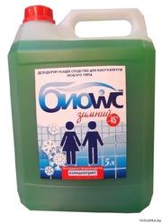 Жидкость для биотуалетов «БИО wc зимний» 5л.
