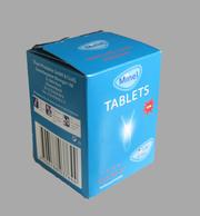Средство для стирки белья в машинах-автоматах MINEL TABS  в таблетках